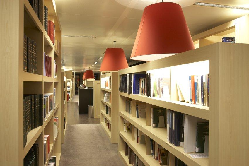 interieurinrichting bibliotheek